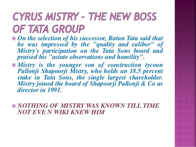 the tata group an overview Tata company was established by jamsetji nusserwanji tata in 1868at first he started trading company which deals with opium in mumbai then in.