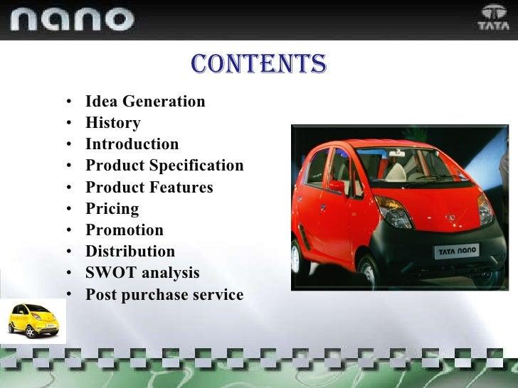 Contents <ul><li>Idea Generation </li></ul><ul><li>History </li></ul><ul><li>Introduction  </li></ul><ul><li>Product Speci...
