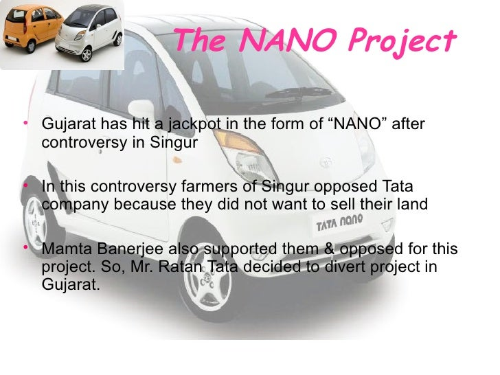 singur nano controvaersy As you all know that there is being lots of problem faced by tata regarding singur plant is nano problem at singur being created by tata's the project it will be agreat loss for the people of singurthen this leader will disappear and will look for some new controversy,so.