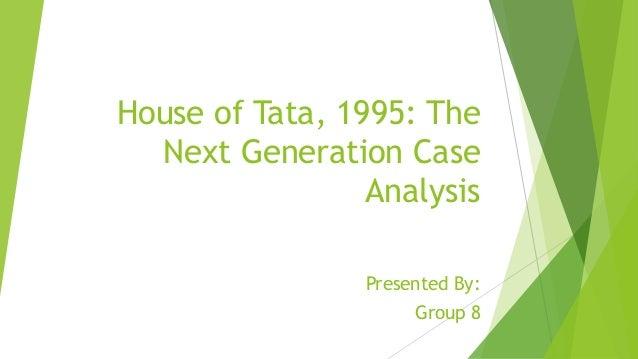 tata group case study analysis