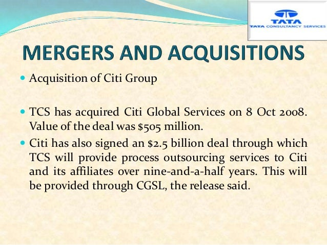 merger between tata infotech and tcs Tcs technology partnerships and relationships tata consultancy services combines its system integration expertise, flexible global delivery model and deep industry insights with the technological expertise and capabilities of its renowned alliance partners to offer competitive advantage to its customers.