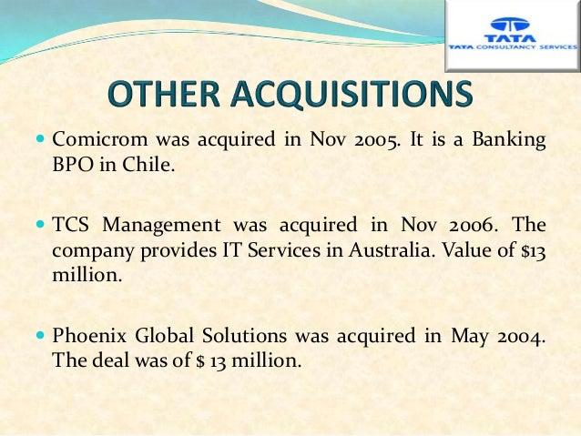 Tata Consultancy Services Final