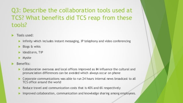 Collaborative Teaching Reaping The Benefits : Tata consulting services meeting