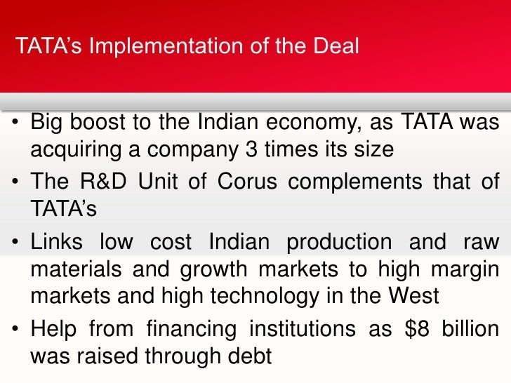 reasons behind merger of tata with corus The last 12 months have been particularly bad for tata steel's uk  tata's  acquisition of corus in 2007 made tata steel the first fortune 500.