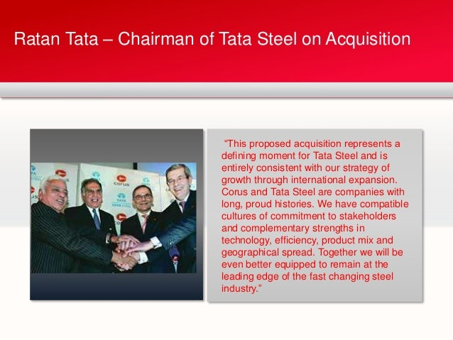 tata corus Over a year in preparation and a sleepless night of bidding for corus: that's what  took tata steel from the fifty-sixth to the fifth-largest steelmaker in the world.