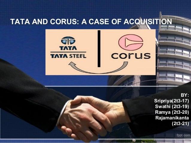 merger of tata steel and corus case study
