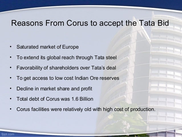 Tata Steel's Acquisition of Corus