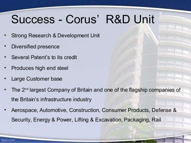 """case study analysis tata corus 2008-03-25 with the swot analysis, strategic intent, strategic capabilities,  and """"corus steel"""" in the uk  in the recent case of tata's acquisition of."""
