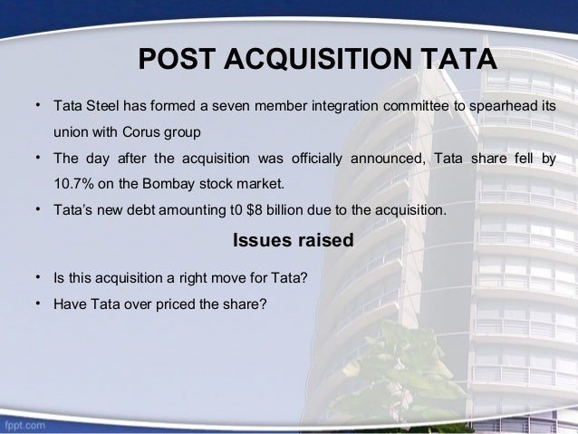 tata steel case study analysis Here is another ongoing case of distribution in us bond market which i charted comment: i will update this idea, how it goes with tata steel in future, whether another redistribution happens or fresh accumulation fundamentally, this is an improving cyclical company, currently in adowncycle, which might end in coming times soon.