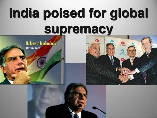 India poised for global supremacy