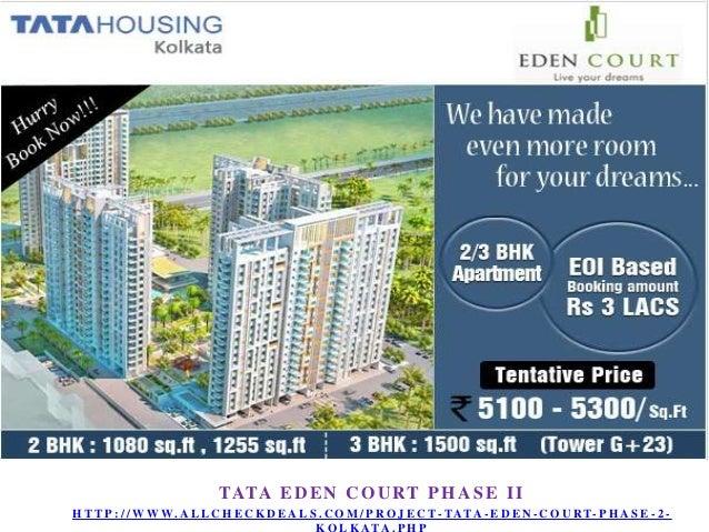 Tata Eden Court Phase 2 – New Housing Project at Kolkata Call 9555666555 Slide 3