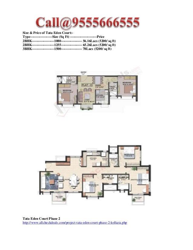 Tata Eden Court Phase 2 - New Residential Project - Tata Eden Court Slide 2