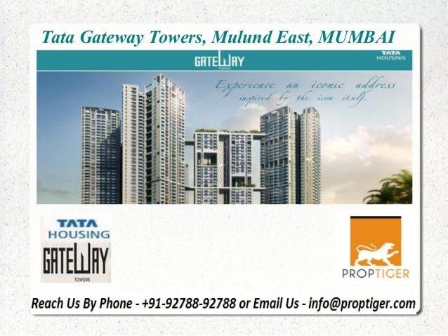Tata Gateway Towers, Mulund East, MUMBAI