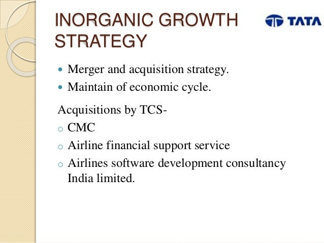 Ratan tata organic growth and change