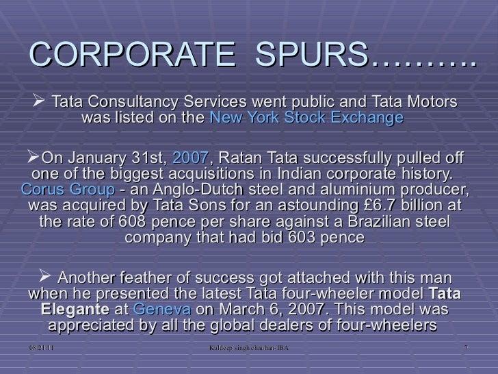 Tata history