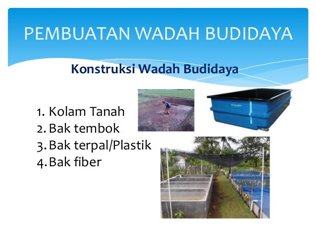 Image Result For Konstruksi Wadah Budidaya Ikan
