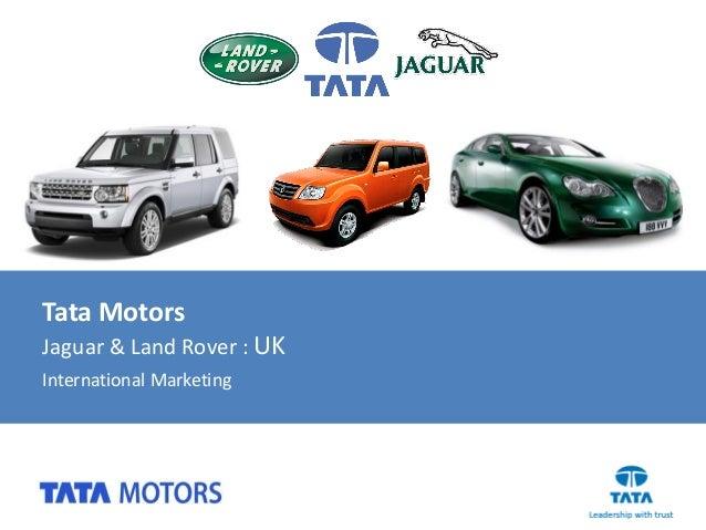 tata jaguar land rover acquisition ppt