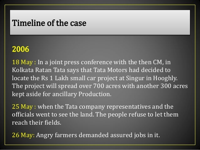 tata case The mistry family didn't acquire stake in tata sons ltd until 1965, according to submissions made before the national company law tribunal by tata sons.