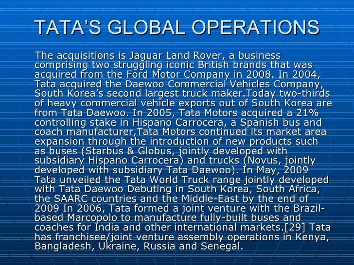 fiat s strategic alliance with tata The relationship between italian automotive major fiat spa and india's tata motors to tap the indian market started with a distribution and service alliance in 2005.