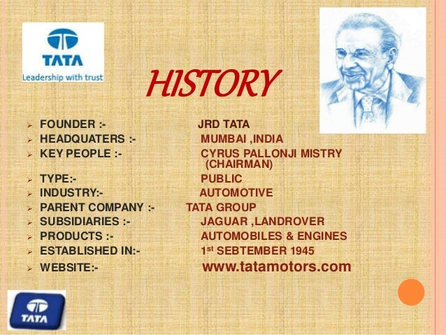 jrd tata essay Essay on the art of communication tata consultancy services ceo and md jawaharlal ne jrd tata.