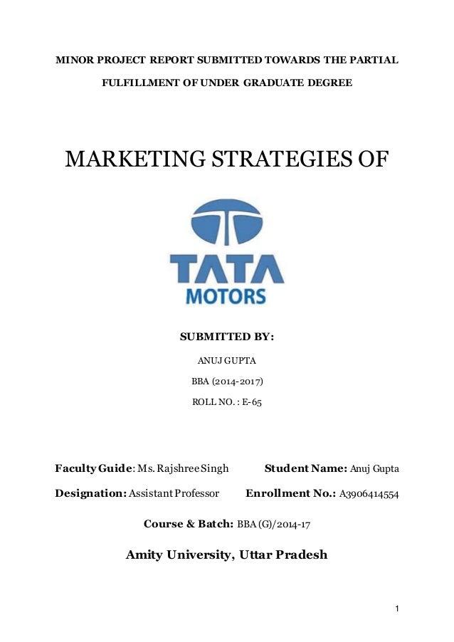 tata motors strategy analysis