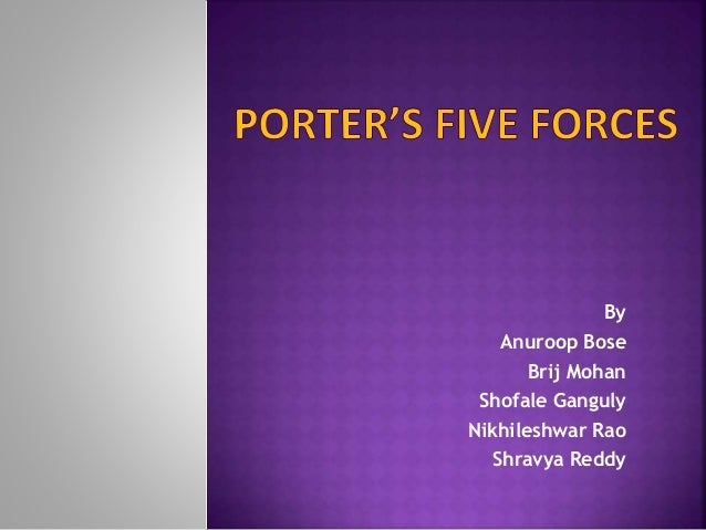 ford motors porters 5 forces Five forces of the automotive industry marketing essay let us now examine porter's five force ford motor company did put effort into easing the pressure of.