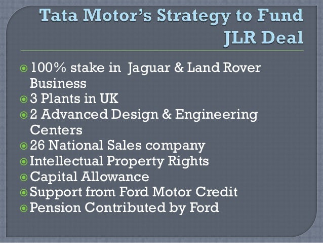 Tata Motors And Jaguar Land Rover