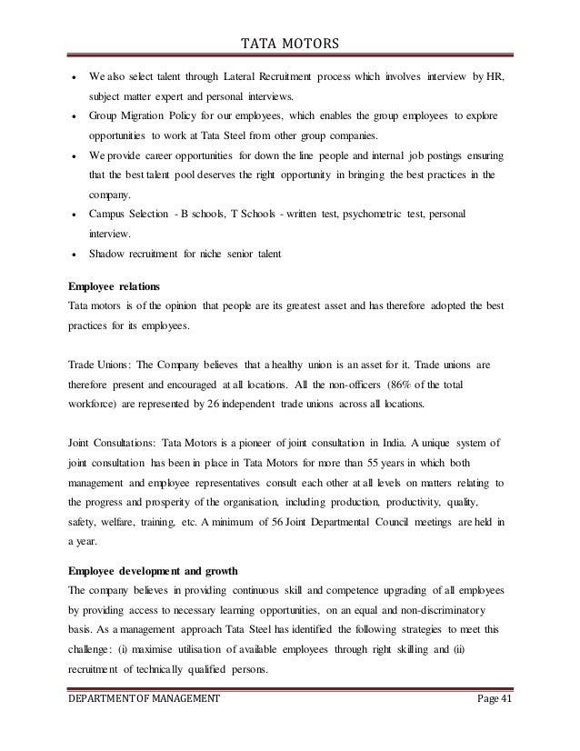 International Management: Tata Case Study