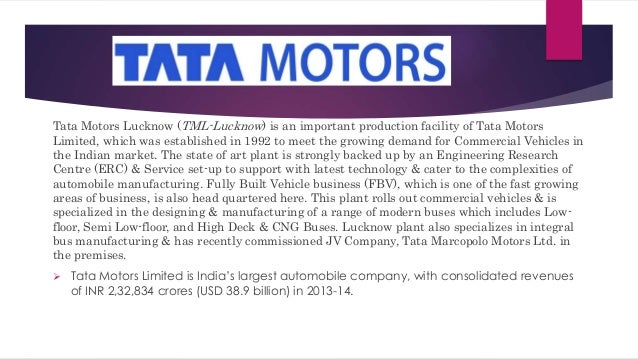 presentation tata motors Tata motors limited (nyse:ttm) q1 2019 results earnings conference call july 31, 2018 9:00 am et executives jinesh gandhi - motilal oswal securities guenter butschek - md and ceo ralf speth - ceo.