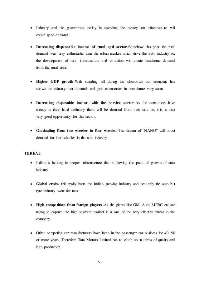 tata motors marketing analysis Company strategy analysis report on: automobile industry- germany & india company strategy analysis report on: automobile  tata motors use market.