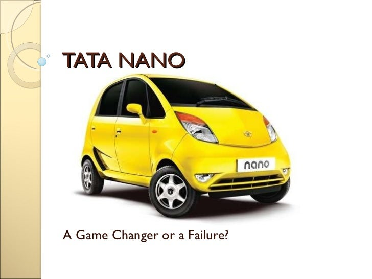case study on tata nano failure Tata nano's execution failure: how the people's car failed to reshape the auto industry and create new growth case solution & answer case study analysis solutions.