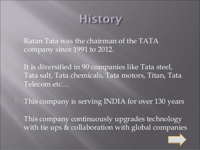 Diversification strategy of tata motors