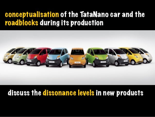 consumer perception of tata nano Consumer preferences of small car in india  tata motor' s nano has been ranked last among entry level small cars in terms of customer satisfaction, according to .