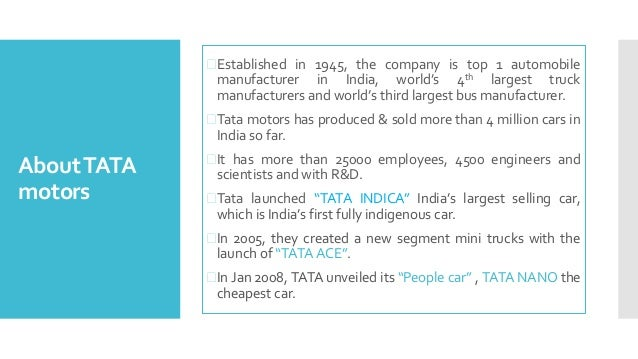 case study on tata nano failure This case study narrates the insightful and interesting story of tata nano, the world's cheapest car though much applauded and publicized for the feat of having.