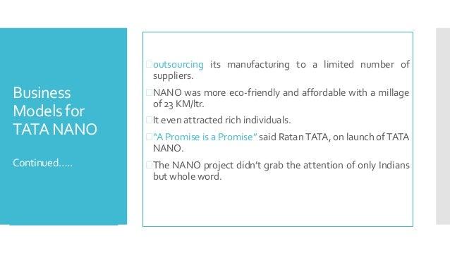 tata nano case study innovation management