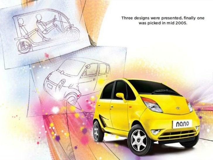 tata nano operations case study I think silvio is the right person to run schindler's india operations according to the case  tata nano – a study on business challenges in india.