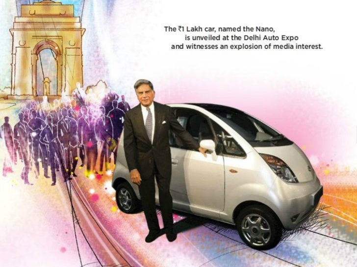 tata nano customer value proposition Tata nano's positioning mr,ratan tata had made an admission that the nano car failed because of the tag he is a discerning customer and looks for value for.