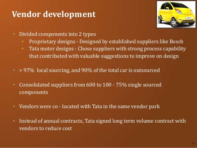 tata motors supply chain Tata motors limited is india's largest automobile company, with consolidated revenues of inr 1,88,818 crores (usd 347 billion) in 2012-13 it is the leade.