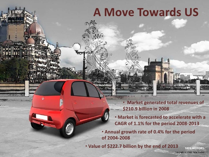 market research tata nano The much-anticipated 2015 tata nano genx has been finally launched in the indian market today at a staring price of ₹ 199 lakh (ex-showroom, delhi.
