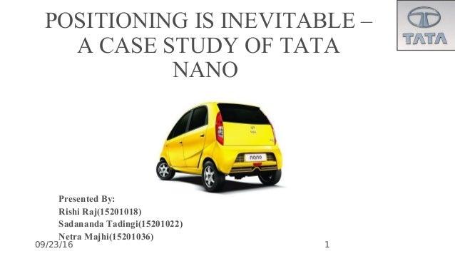 conclusion of tata nano