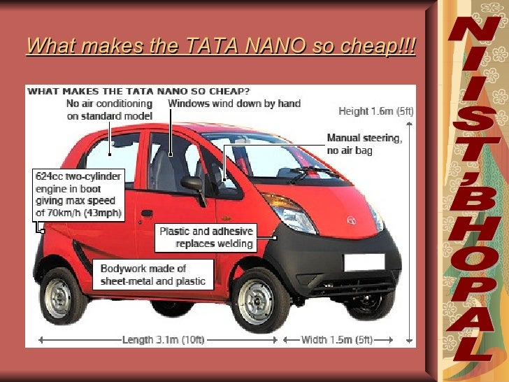 Tata Nano Worlds Cheapest New Car Is Unveiled In India