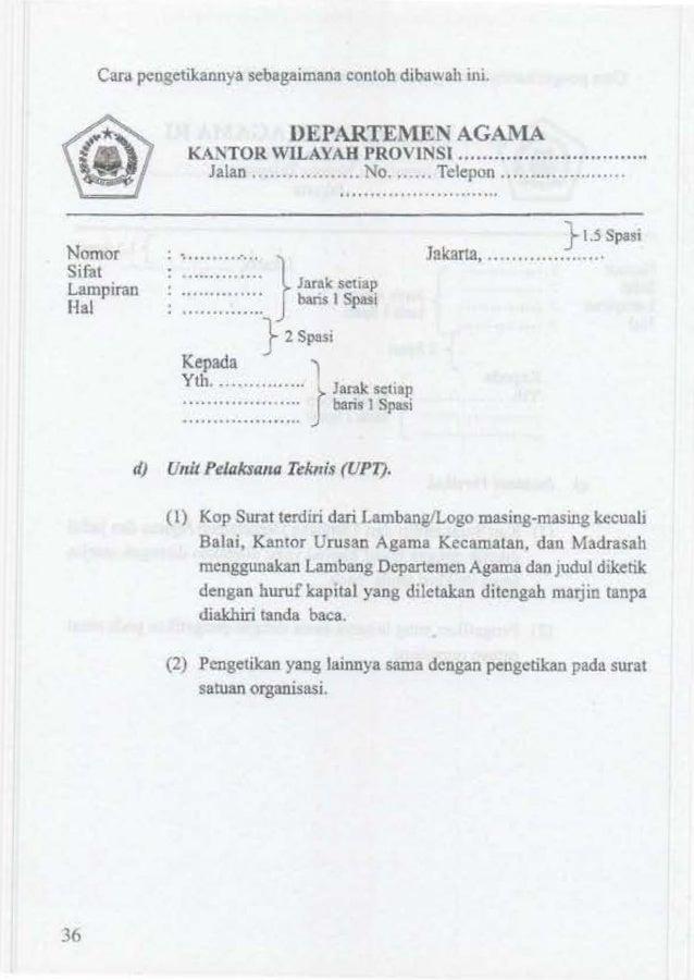 Kop Surat Kementerian Agama - Contoh Kop Surat