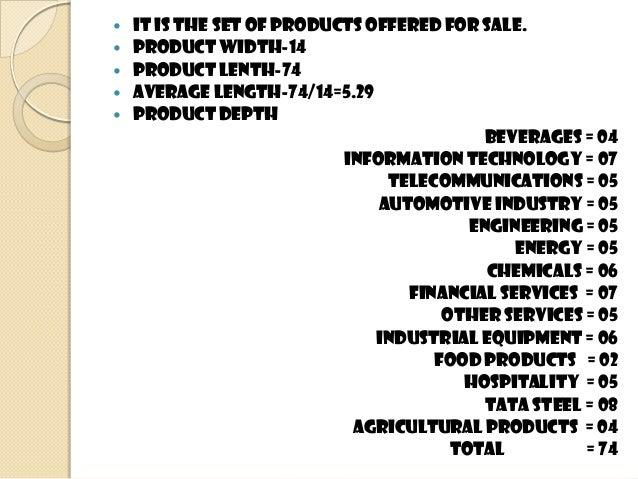 Product mix of tata company