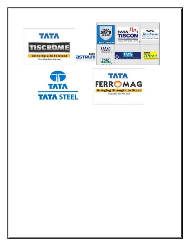 branding a commodity tata steel Tata steel is among the top ten steel manufacturers in the world it operates in  more than 20 countries and has a commercial presence in over 50 it has the.