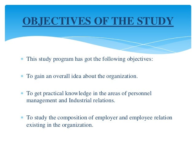 objective of the study need of the study scopeof employee retention project Easily share your publications and get them in front of issuu's millions of monthly readers title: project report on employee retention, author: sanjay the purpose of this project study was also to prove how employee retention is provide the tools and training an employee needs to.