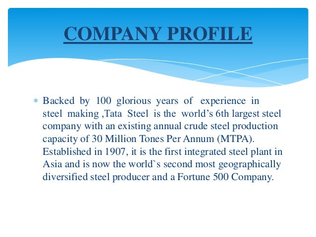 performance appraisal at tata steel Initiate contemporary performance-appraisal and management systems  when there was a dearth of talent in the then nascent steel industry, tata steel established a.