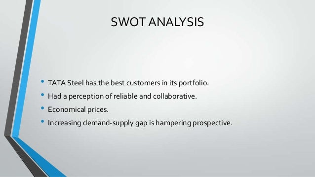 tata sia swot analysis In this assignment, i am going to do swot analysis consider to establish current position of tata motors and how this swot analysis can be used to.