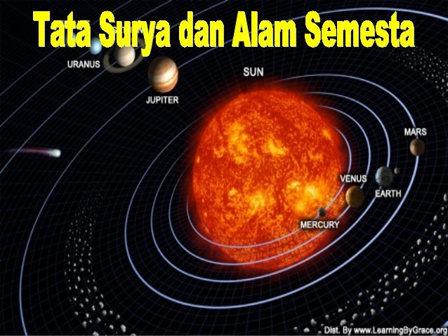 tata surya dan alam semesta rh slideshare net