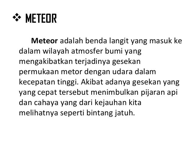 Image Result For Meteor Jatuh