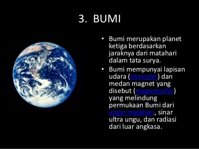 Tata surya, gerak bumi dan gerak bulan tendik